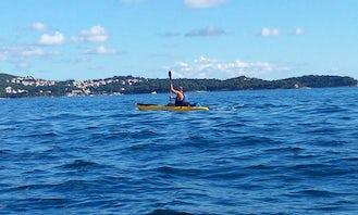 Amazing Single Kayak Rental in Srebreno, Croatia