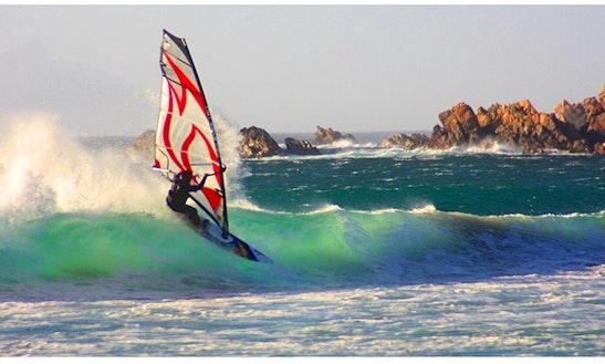 Windsurfing In Wasserburg (bodensee)