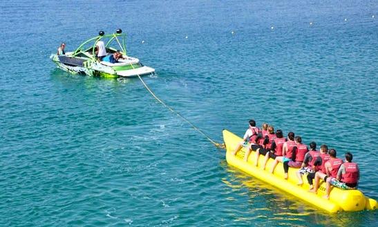 Banana Boat Rides In Turkey