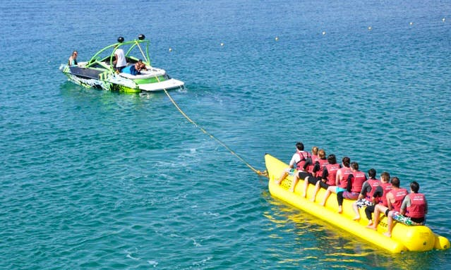 Banana Boat Rides in Turkey