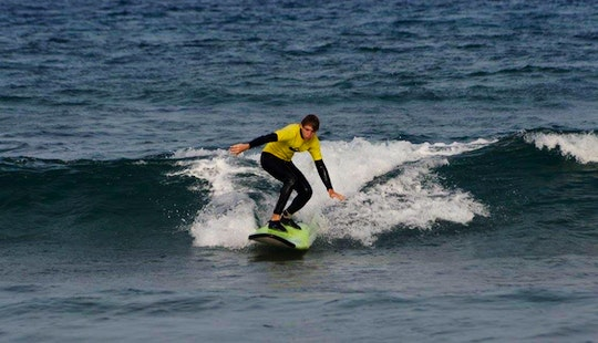 Surf Lessons In Arona