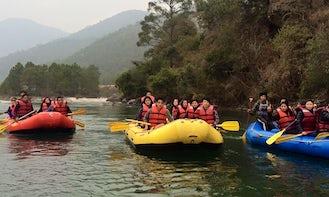 Raft in Punakha