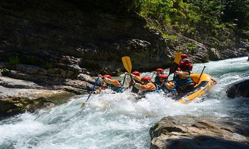 Raft in Laino Borgo