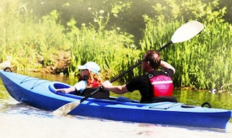Double Kayak Hire and Tours in Mazowieckie