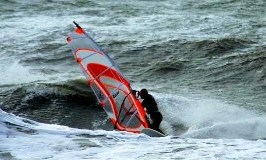 Windsurfing In Sankt Peter-ording