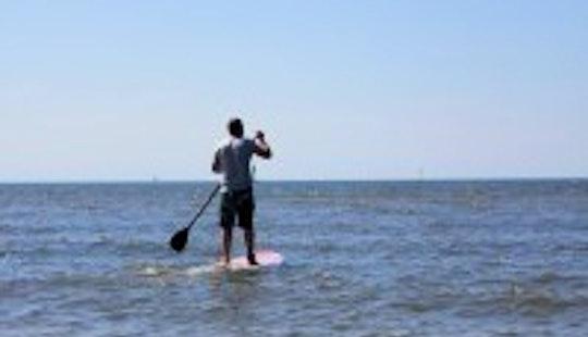 Paddleboard In Sankt Peter-ording