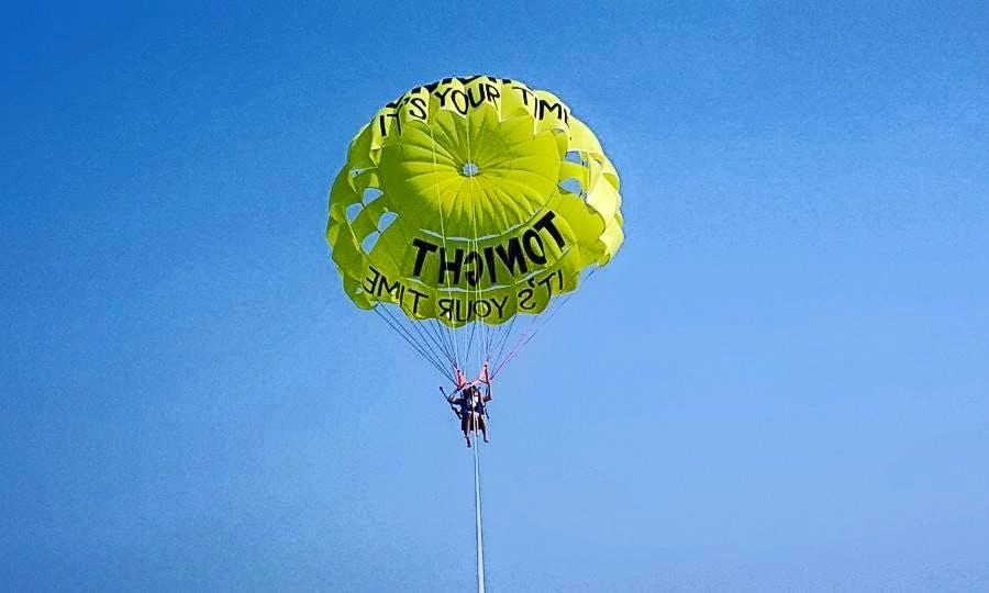 Parasailing in Turkey