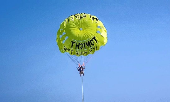 Parasailing In Turkey