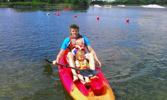 Double Kayaking Hire & Trips In Blackpool