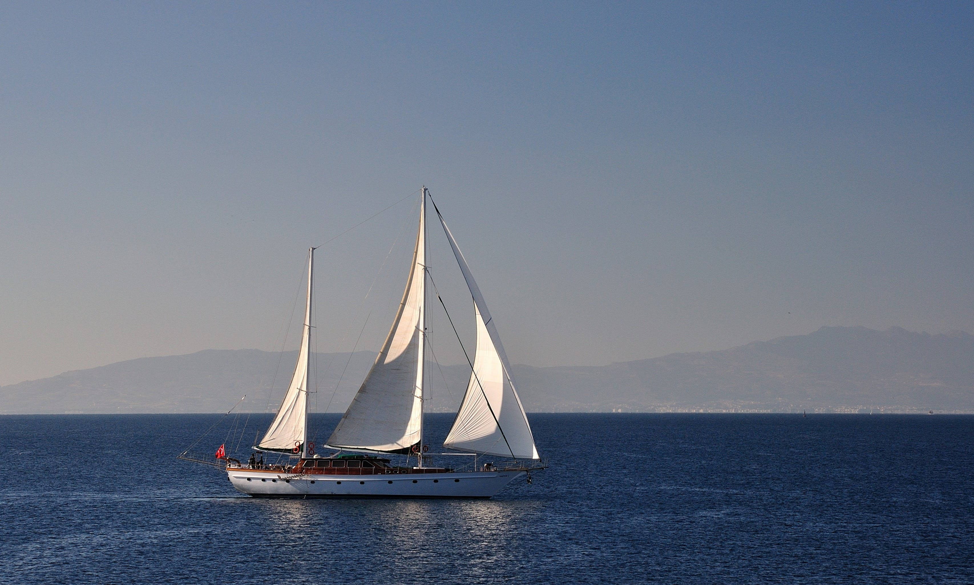 Schooner rental in BODRUM in southwest Turkey