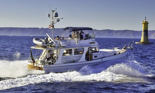 'odysseus' Motor Boat Hire In Marseille