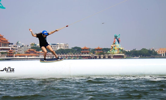 Ultimate Wakeboarding Experience In Zuoying District, Taiwan!