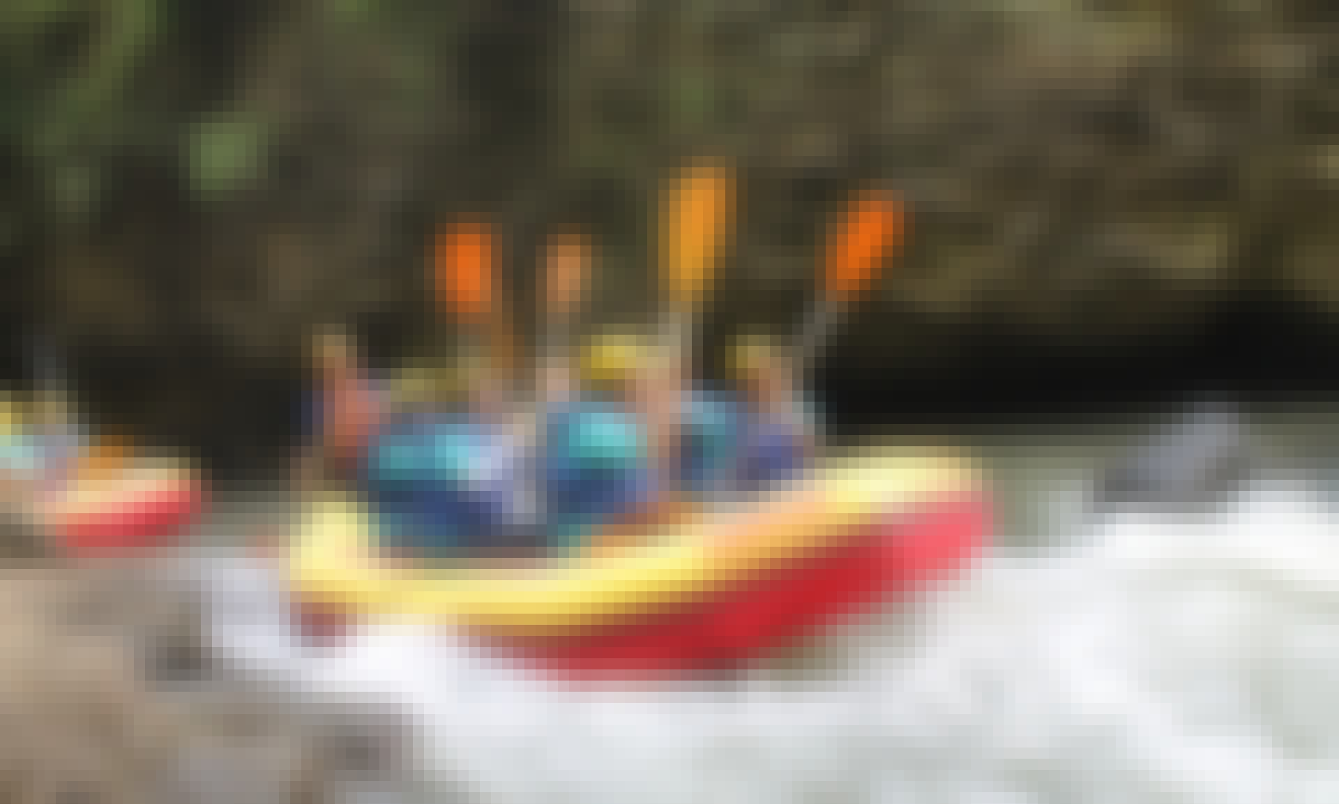 White Water Rafting Trips in Gending