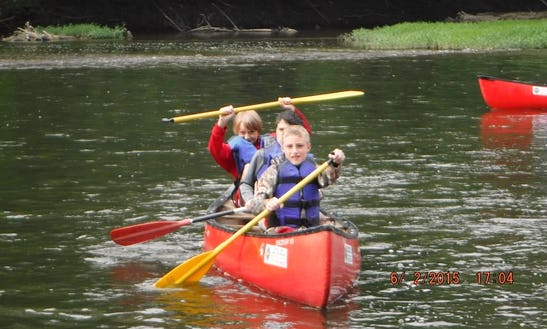 Scenic River Canoe Excursions In Anderson Township, Ohio