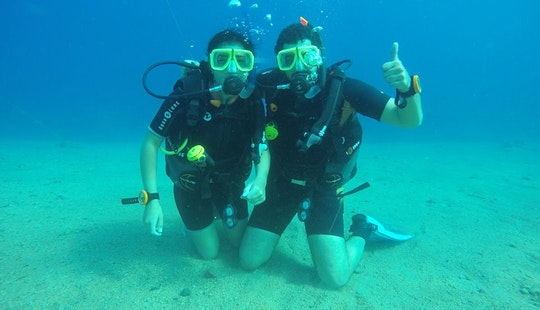 Scuba Lessons And Guided Dives In Dahab