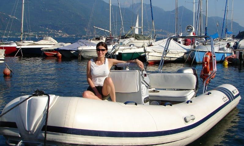 "Rent 16ft ""Jocker"" RIB In Musso, Italy"
