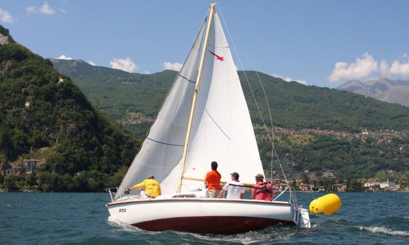 "20ft ""Meteor"" Daysailer Rental In Musso, Italy"
