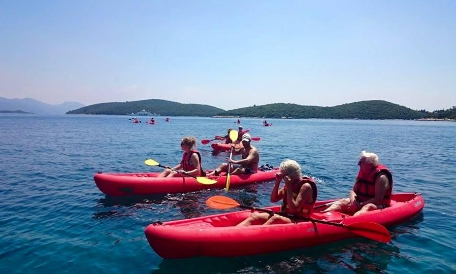 Double Kayak Rental in Korčula