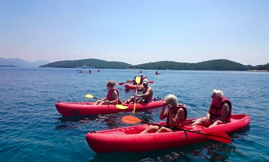 Double Kayak Rental In Korčula