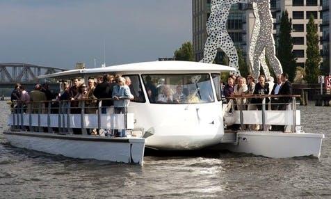"""""""Zurich"""" Power Catamaran Boat Rental in Berlin, Germany"""