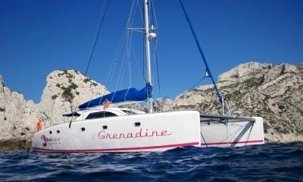 Cruise onboard Nautic 475 Catamaran In Marseille