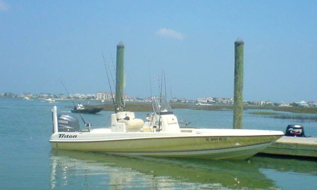 "22' ""Bite Me"" Center Console Fishing Charter in North Myrtle Beach, South Carolina"