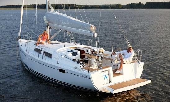 Hanse 385 Cruising Monohull Rental In Antibes, France