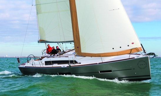 Dufour 382 Grand Large Cruising Monohull Rental In Antibes, France