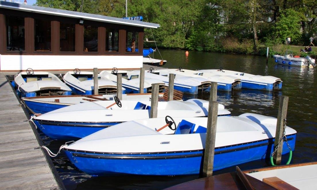 Boat Hire in Hamburg