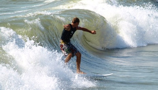 Surfing Lessons In Tp. Phan Thiết