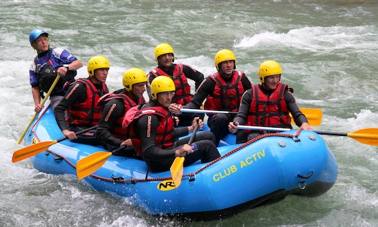 Rafting In Sand In Taufers