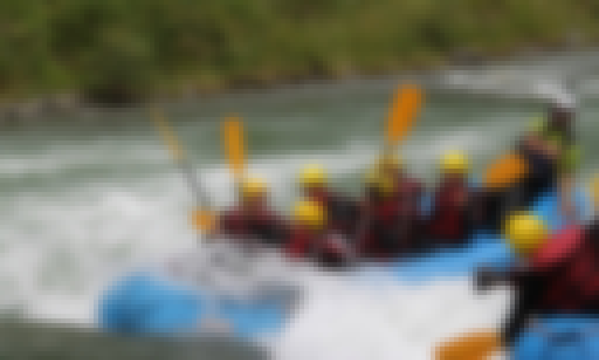 Whitewater Rafting in Sand in Taufers