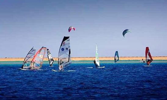 Windsurfing In South Sinai