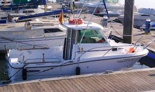 """Antares 620"" Motor Boat trips in Hamburg"