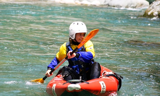 Inflatable Single Kayak Trips & Lessons In Balmuccia, Italy
