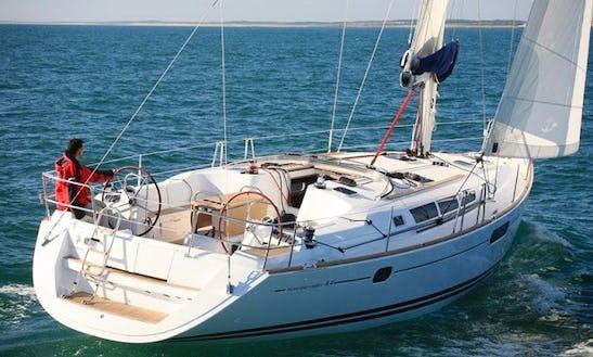 Explore The Ionian Sea Aboard The Sun Odyssey 44i Sailboat