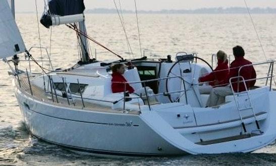 Sun Odyssey 36i Cruising Monohull Charters In Achaia, Greece
