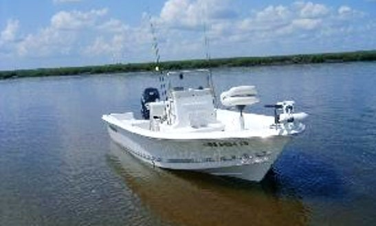 Center Console Fishing Charter In Saint Simons Island