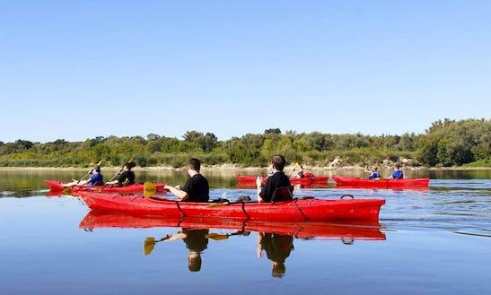 Double Kayak Rental In Łomianki Dolne