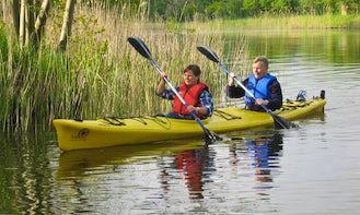 Double Kayak Rental in Wesenberg