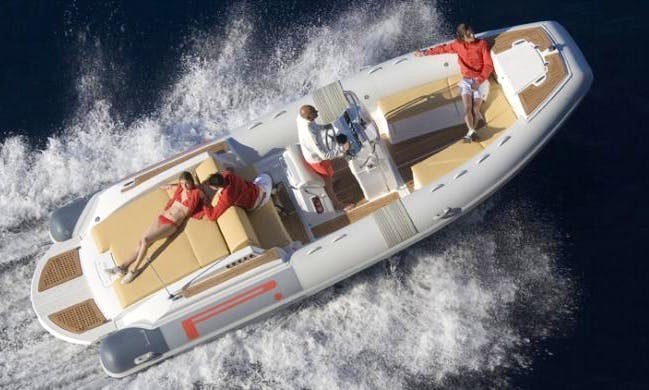"""BIBA 44"" Boat Hire in Orbetello"