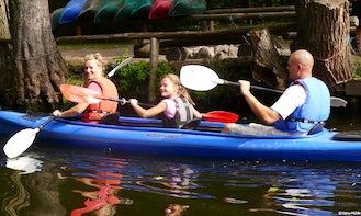 3- Person Kayak Rental in Wesenberg