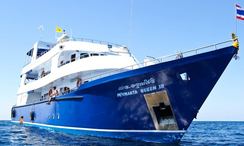 'M/V MANTA QUEEN 3' Diving in Tambon Khuekkhak