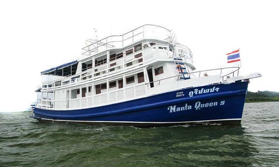 'm/v Manta Queen 5 ' Diving In Tambon Khuekkhak