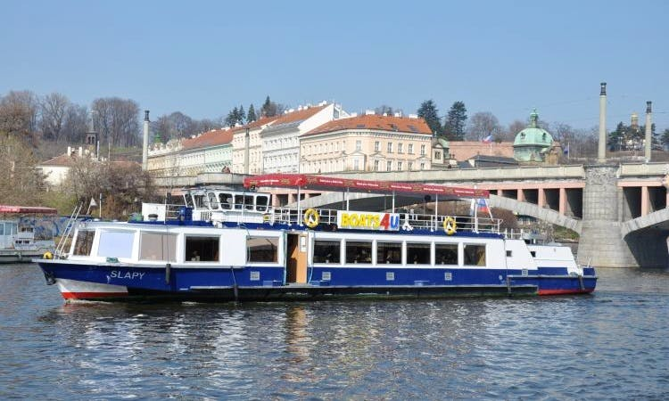 2 hour Cruise in Prague for up to 20 guests