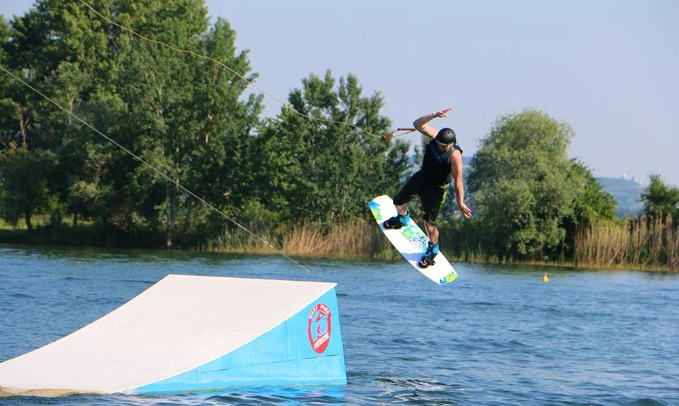 Wakeboarding Lessons in Pasohlávky