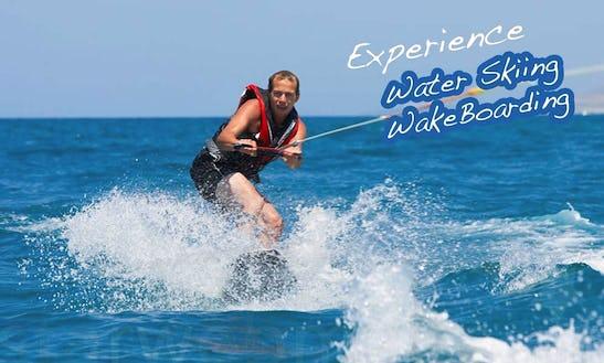 Water Skiing Rides For 15 Minutes On Xlendi Bay, Munxar