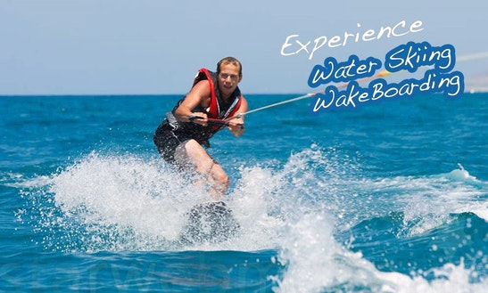Water Skiing Rides For 15 Minutes On Xlendi Bay, Munxar