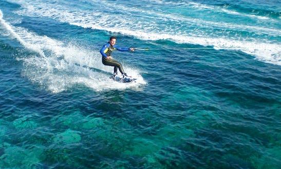 Wakeboarding Rides In Xlendi Bay, Munxar
