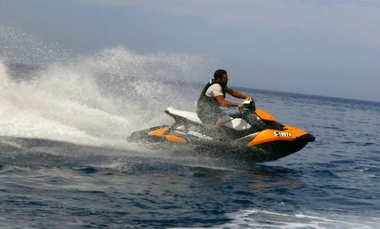 Sea Doo Spark Jet Ski Hire On Xlendi Bay, Munxar